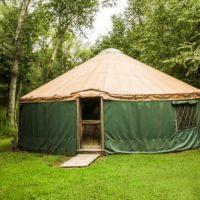 Yurt at Camp Canaan
