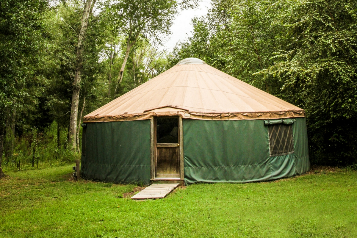 Yurt at Camp Canaan