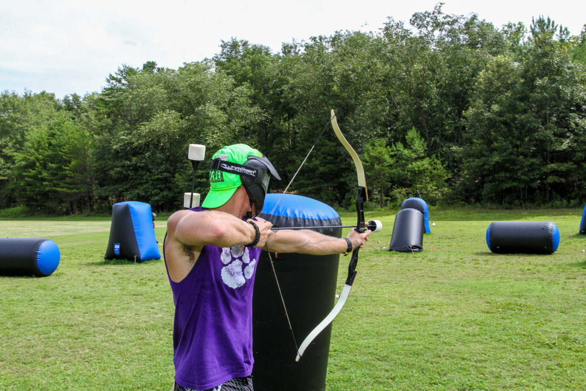Archery Tag Camp Canaan Adventures In Rock Hill Sc